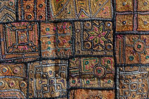 traditioneel wandkleed van Jan de Vries