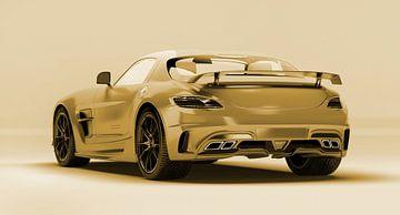 Mercedes Benz SLS AMG van Ronald George