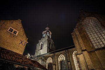 Sint-Gertrudis-Kirche in Mons op Zoom von Rick van Geel