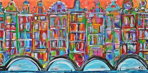 -Amsterdam Grachten en grachtenpanden