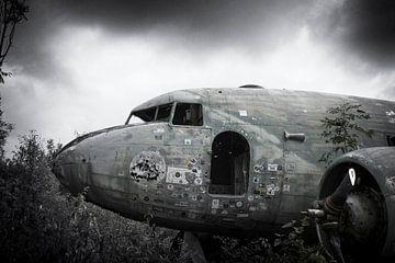 Verlassenes Flugzeugwrack Dakota von Ger Beekes