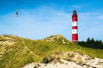 Nordsee - Leuchtturm auf Amrum von Reiner Würz / RWFotoArt