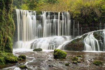 Geratser Wasserfall im Allgäu von Michael Valjak