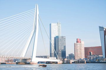 Erasmus brug in Rotterdam van Joran Huisman