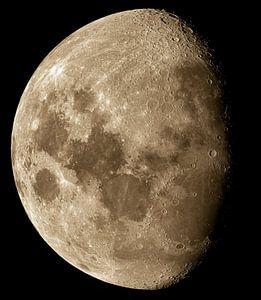 Maanfase - afnemende maan
