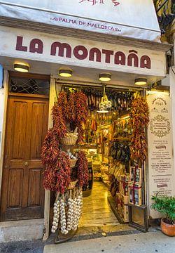 Produits de l'épicerie fine de Majorque à Palma de Majorque, Espagne sur Alex Winter