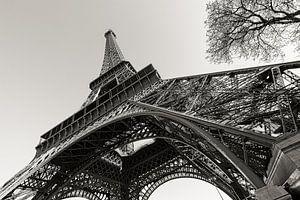 Parijs Eiffeltoren in perspectief