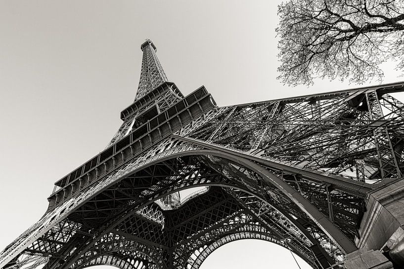 Parijs Eiffeltoren in perspectief van Jean-Paul Wagemakers