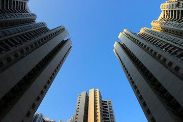 Wolkenkrabbers Hongkong van SK Lee