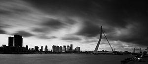 Erasmusbrug in Rotterdam | Lange Sluitertijd