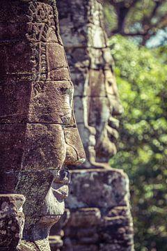 Buddhas im Stein
