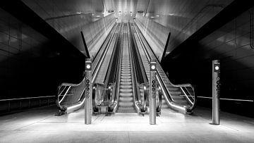 Roltrap station Vijzelgracht