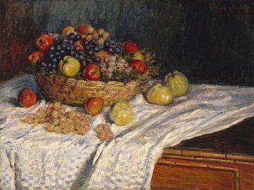 Les pommes et les raisins, Claude Monet sur