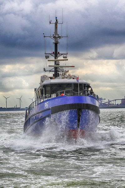 Politieboot van Peet de Rouw