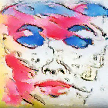 Abstract Inspiratie XXXVII van Maurice Dawson