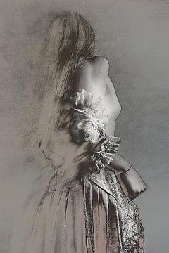 Skizzierung feminity, Olga Mest von 1x