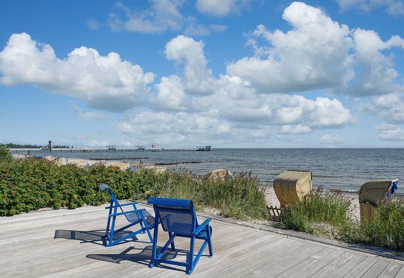 Strand im Ostseebad Kellenhusen,Deutschand von Peter Eckert