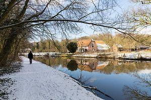 Winters landschap in de Kromme Rijnstreek