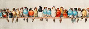 Ein Barsch von Vögeln, Hector Giacomelli (Digitalisiert)