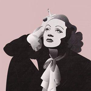 Marlene Dietrich von Maarten Stienstra