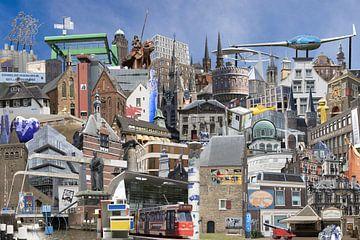 Delftse Collage van Javier Alonso