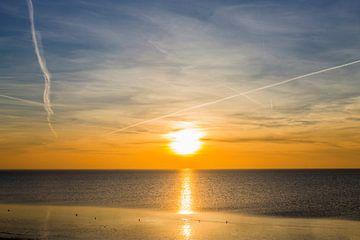Harlingen Sunset von Maurice van Miltenburg