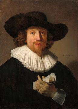 Mann mit einem Notenblatt, Rembrandt