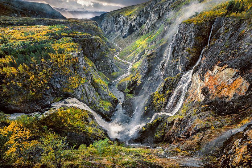 Wasserfall Voringsfossen, Norwegen von FineArt Prints   Zwerger-Schoner  