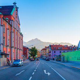 Zomeravond in Innsbruck van Jelmer van Koert