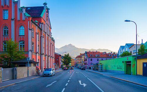 Zomeravond in Innsbruck van