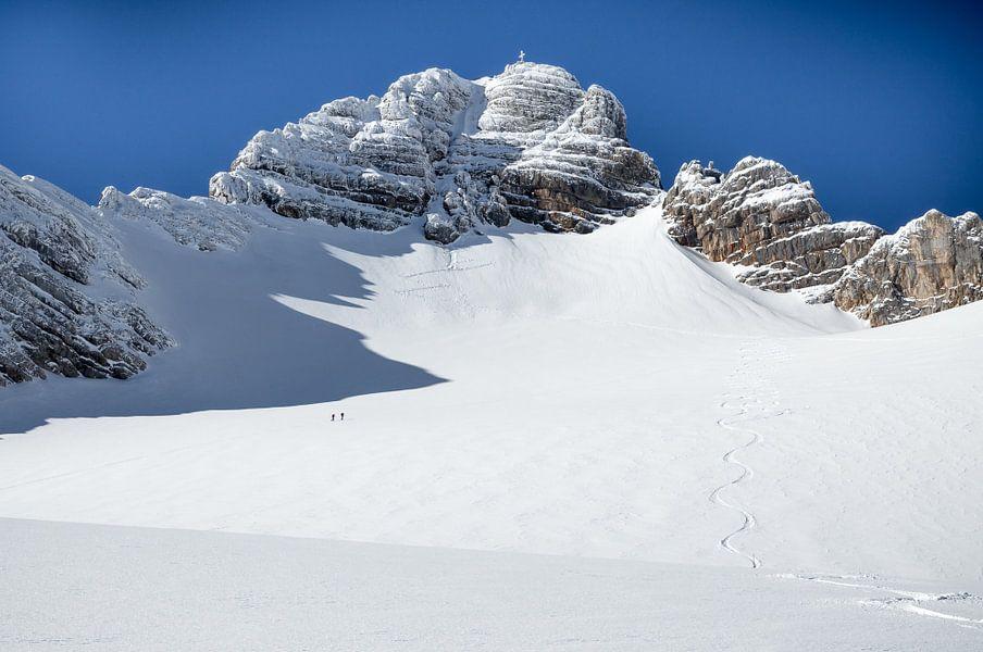 """Berglandschap """"Hohe Dachstein in de Winter"""""""