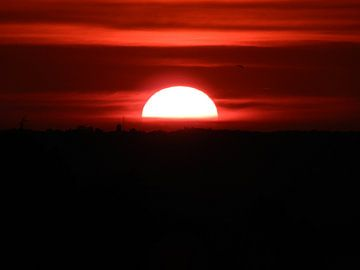 Zonsondergang van Els Royackers