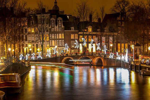 AmsterdamNight2 van John ten Hoeve