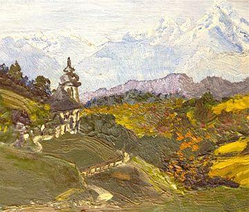 Alpine Autumn von Gitta Gläser