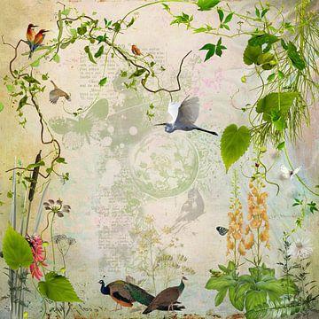Vogelparadies von Carla van Zomeren