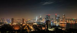 Rotterdam skyline van Jacques Yasemin