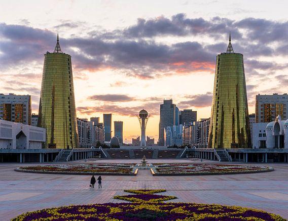 Gouden uurtje Astana