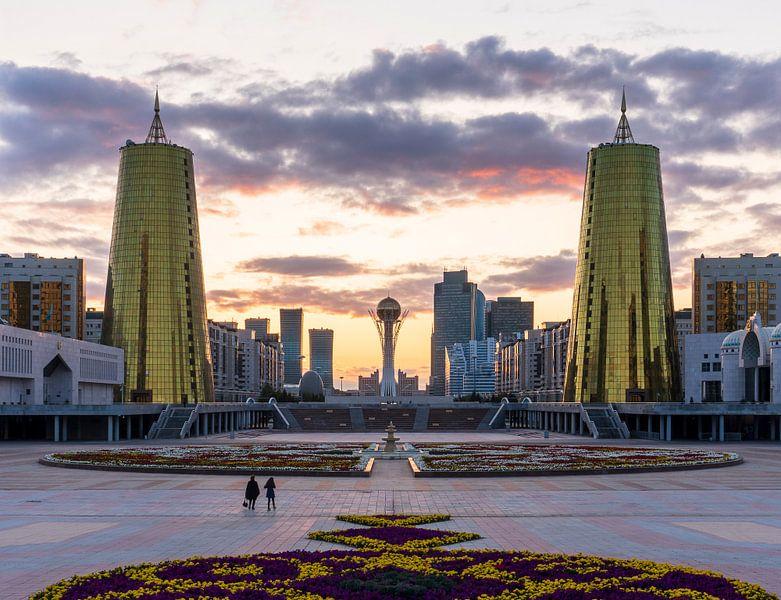 Gouden uurtje Astana van Jeroen Kleiberg