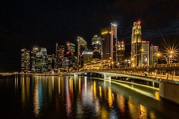Singapore lights van