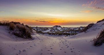 op weg naar het strand van Hans van der Grient