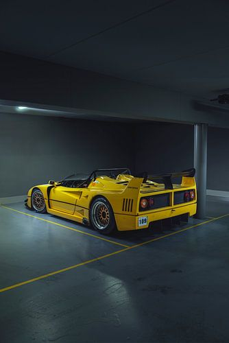 Ferrari F40 Barchetta Beurlys von Gijs Spierings
