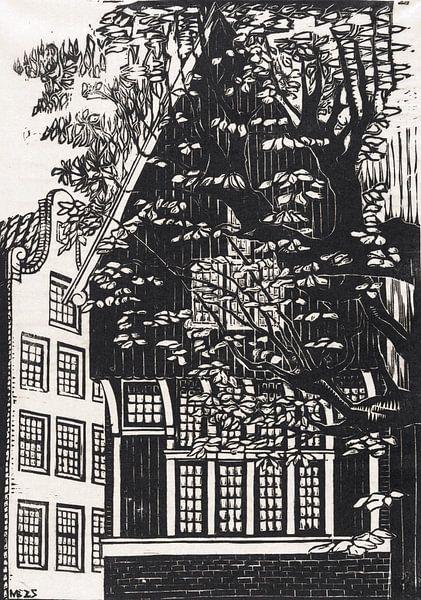 Amsterdam, Begijnhof, Meijer Bleekrode, 1925 von Atelier Liesjes