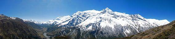 De Annapurna regio in de Himalaya