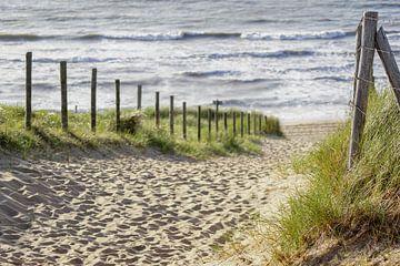 Zand en zee sur Dirk van Egmond