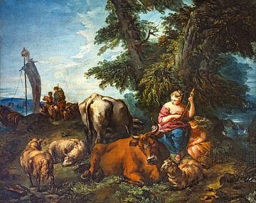 Pastorale - François Boucher von Atelier Liesjes