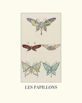Les papillons von NOONY