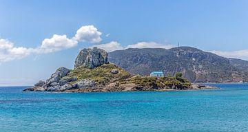 Kastri Island op Kos, Griekenland van Arisca van 't Hof