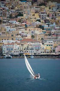 Sailing near Syros  van