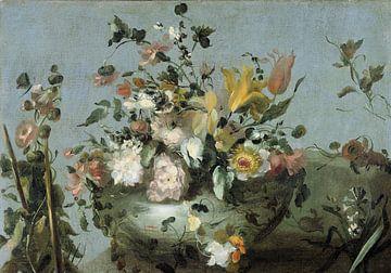 Stillleben mit Blumen, Anonym