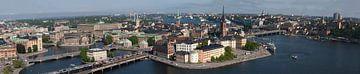 Riddarholmen eiland in Stockholm van Michelle Peeters